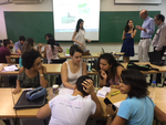 Sharing Innovations in WASH with Brasilia University students