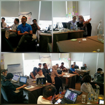 Akvo tools training for SNV country office representatives in Bangkok
