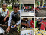 Field Soil Test Demonstration for Farmer